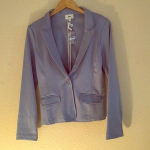 NWT HAVE Beautiful Baby Blue Blazer Size L